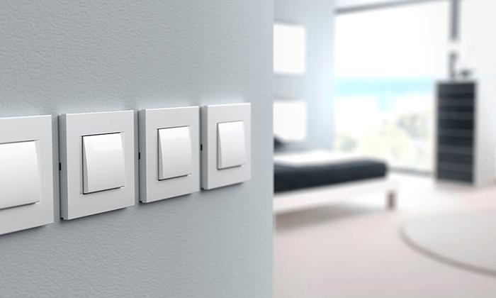 Interruttori con luce e touch per illuminare tutta la casa