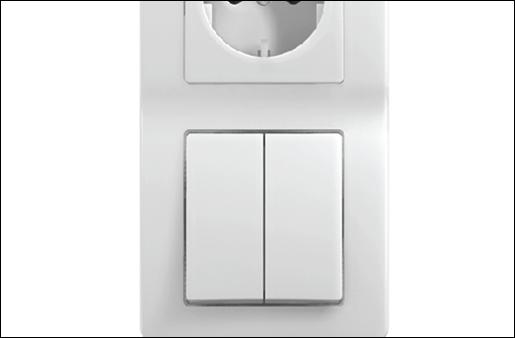 Tipi di interruttori elettrici moderni per tapparelle e for Tipi di interruttori elettrici