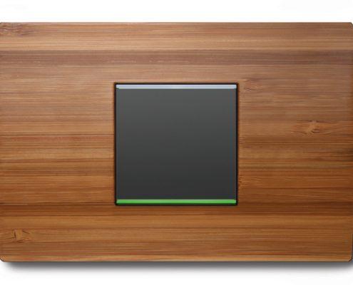 Scegli delle placche per interruttori luce facili da installare e perfettamente adatte agli interruttori luce touch.